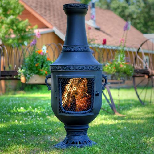 Chiminea Venetian Style Outdoor Fireplace Chimenea
