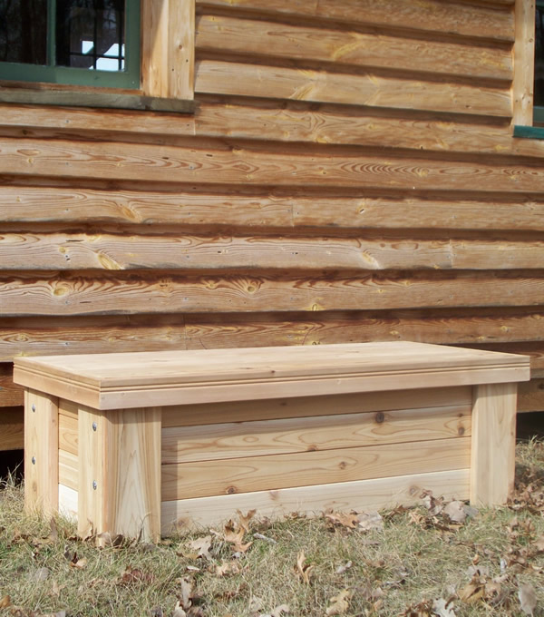 Cedar Chest And Chiminea Bench 4 Amp 39