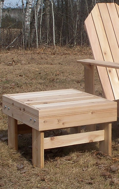 Wonderful Cedar Side Table [CST200]