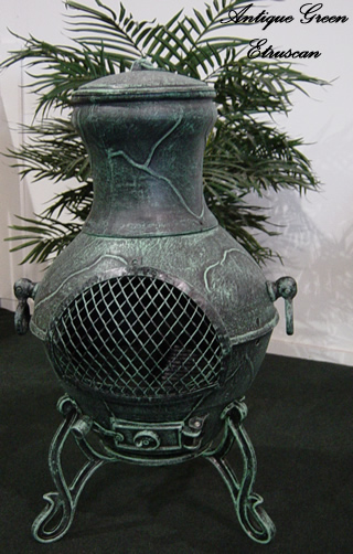 chiminea  etruscan style cast aluminum outdoor fireplace cast iron outdoor wood burning fireplace outdoor fireplace grates cast iron